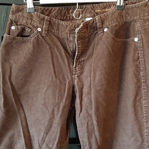 3/$25 GUC brown cords size 10 ins 32 (P121)